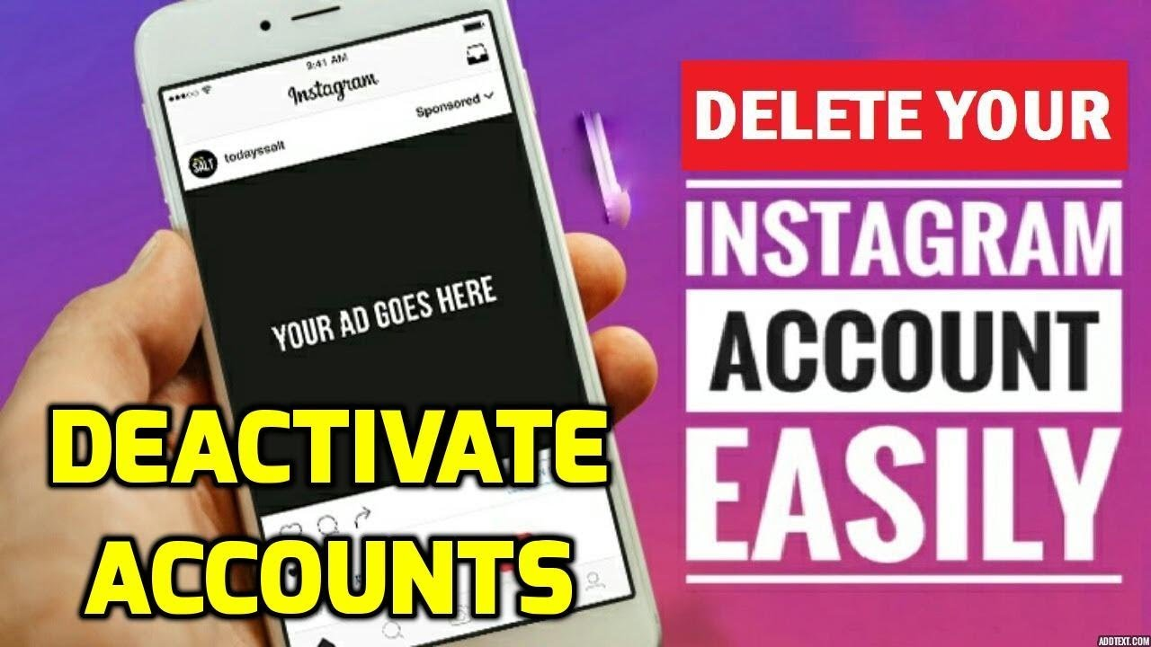 How to delete instagram account permanently youtube how to delete instagram account permanently ccuart Gallery