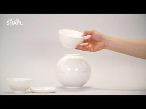 SHAPL Ceramics tableware set