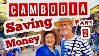2 TIPS SHOPPING Half Price CAMBODIA  :  SAVE MONEY TRAVELING:  Cambodia In  Phnom Penh, Siem Reap