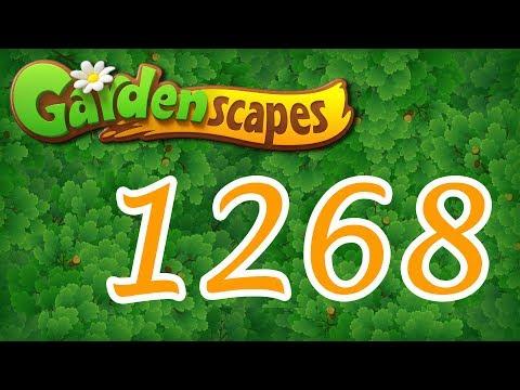 Gardenscapes level 1268