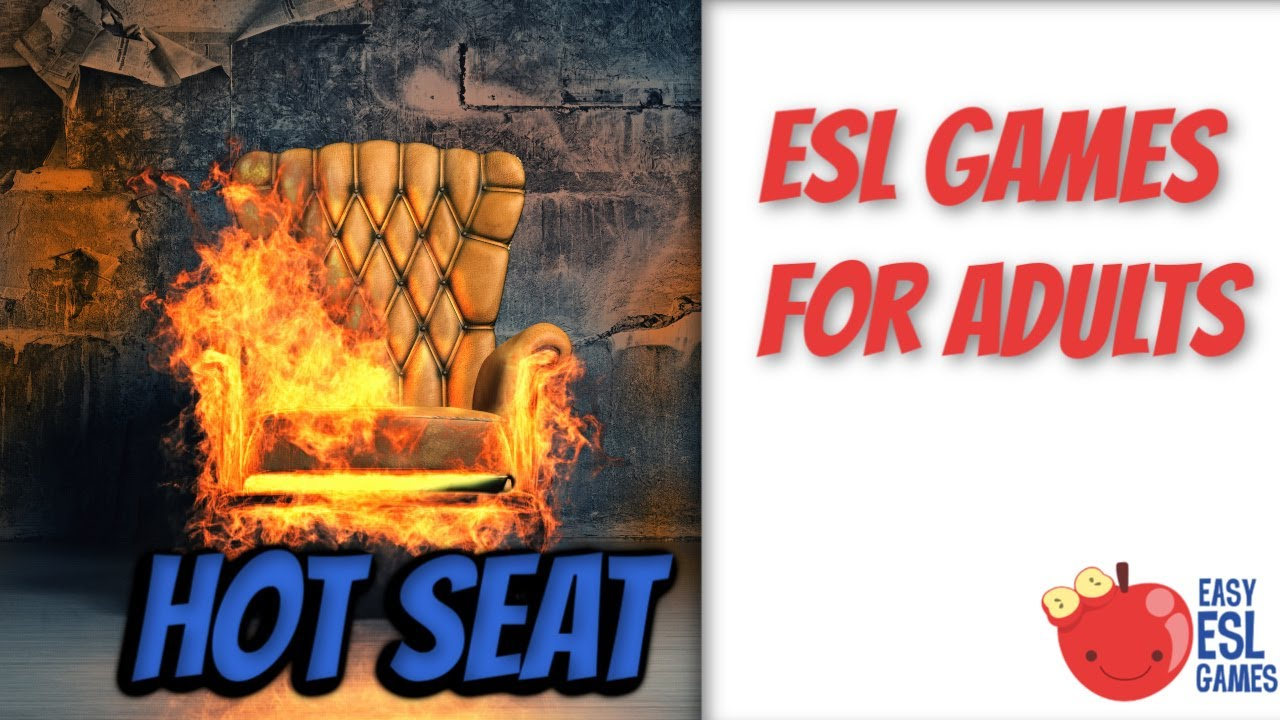 ESL Games For Adults | Hot Seat | Easy ESL Games - YouTube