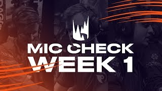 LEC Mic Check: Week 1 | Spring Split 2019