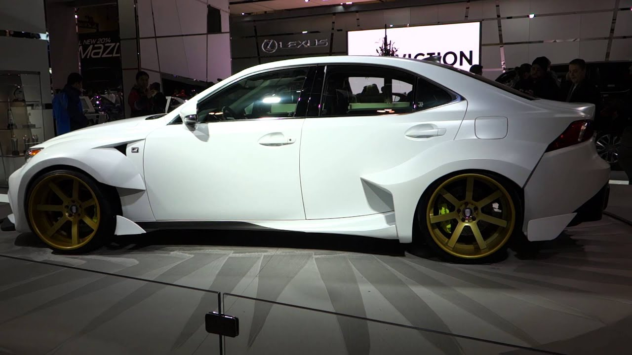 2014 Custom Lexus IS 350 At The 2014 Toronto Auto Show - YouTube