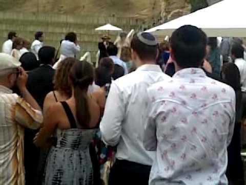 Singing In Bride And Groom At Jewish Wedding A Cappella