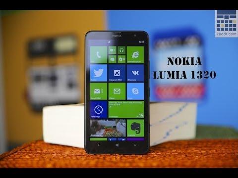 Nokia Lumia 1320 - обзор смартфона/телефона (параметры и характеристики)