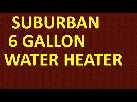 RV Water Heater Heating Element Change