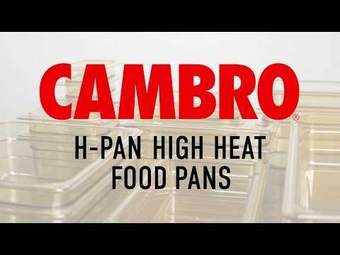 Cambro H-Pan High Heat Food Pans