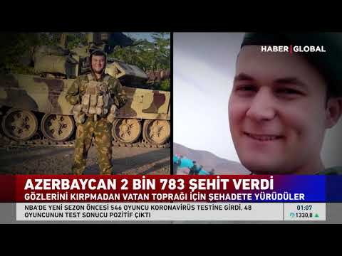 2 bin 783 Azerbaycan Askeri Gözünü Kırpmadan Şehadete Yürüdü! Her Birinin Ayrı H