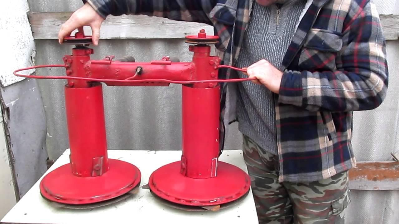 Роторная косилка для мотоблока своими руками чертежи фото 341