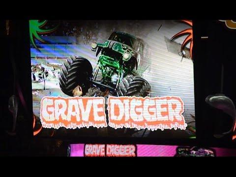 Grave Digger Monster Jam 2014 Quicken Loans Arena