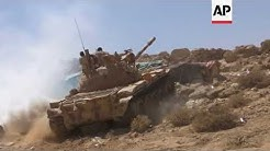 Saudi-backed troops battle Houthi fighters as Yemen's stalemated war rages on