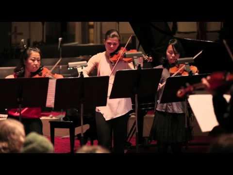 Bloomingdale School of Music 50th Birthday Concert 11/8/2014: Brandenburg Concerto No 3 I. Allegro