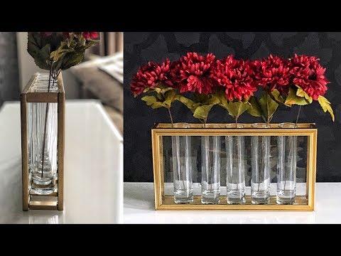 DIY Dollar Tree Flower Vase Hack -  Easy & Pretty!