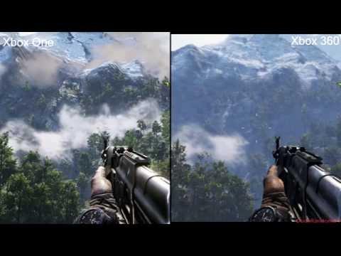 Far Cry 4 Xbox 360 Vs Xbox One Graphics Comparison Youtube
