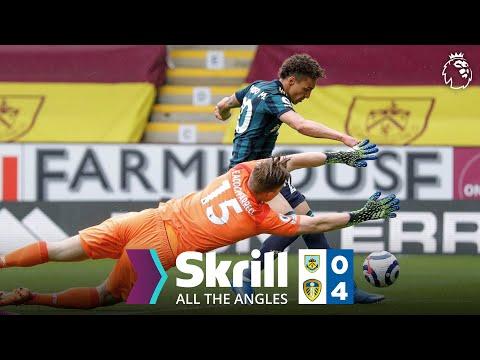 Beautiful Rodrigo double seals four-goal thrashing | All The Angles | Burnley 0-4 Leeds United