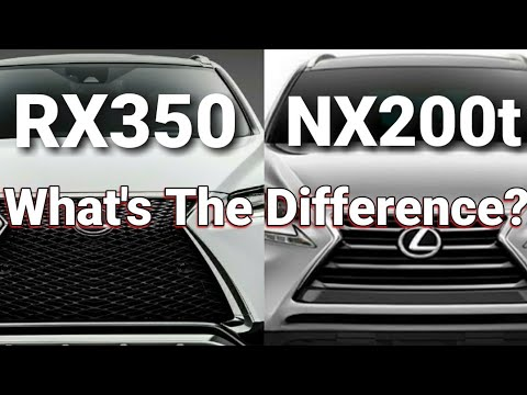 What S The Difference Lexus Nx 200t Vs Rx 350 Turbo Vs V6 Best