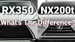 What's The Difference? Lexus NX 200t vs. RX 350 Turbo vs. V6 Best Selling Lexus OR Small and Fiesty?