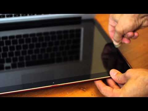 how to change laptop screen vertically