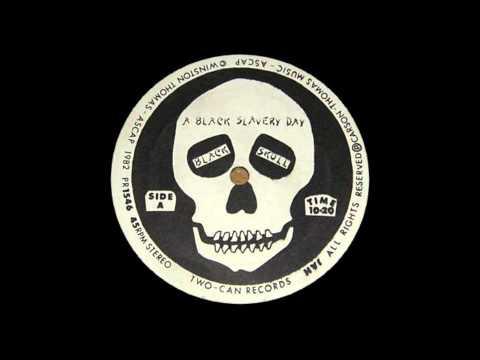 12'' Black Skull - A Black Slavery Day