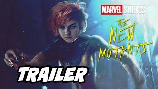 Marvel New Mutants Disney Plus Trailer Announcement Breakdown and Easter Eggs