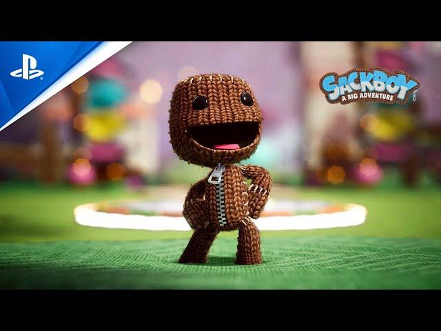 Sackboy: A Big Adventure - Story Trailer | PS5