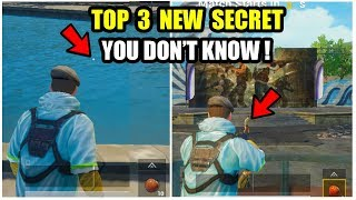 TOP 3 New Secret Trick In Pubg Mobile Which you dont know!