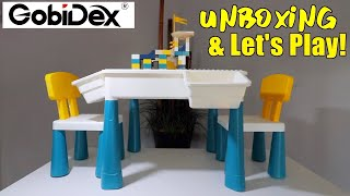 Kids Activity Play Table by GobiDex (7 in 1): Unboxing & Let's Play!