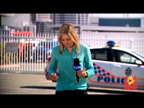 Australian Reporter Bitten by Bull Ant