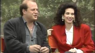 Theresa Saldana, Michael Chiklis--Commish