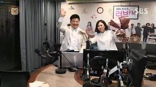 20160915 송은이 김숙의 언니네라디오 (추석특집) - 윤정수 기습 방문 cut