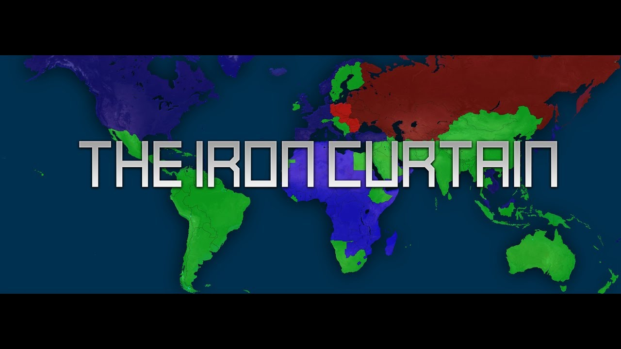 Iron Curtain Map The Iron Curtain Trailer
