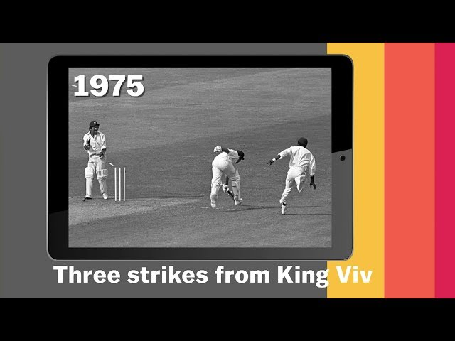 The deadly arm of Viv Richards