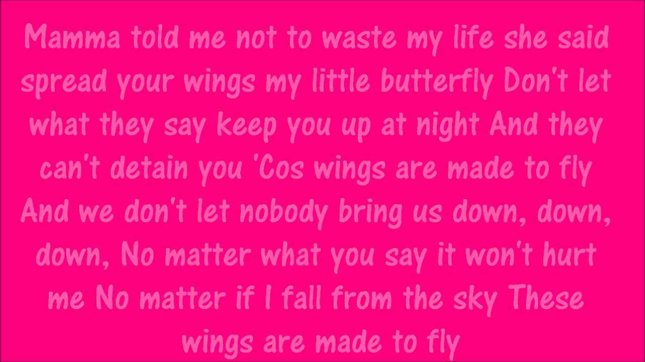 Little Mix - Wings (Karaoke) Official Instrumental - YouTube
