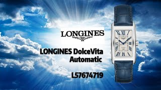 Видео LONGINES Dolce Vita Automatic | Longines Rectangular Iconic Automatic Leather Watch (автор: JOSELUIS from TONG ENG WATCHES SDN BHD)