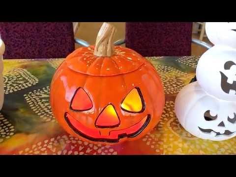 Art Füzd ~ Fall Season and Halloween Pottery Painting Ideas
