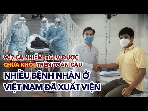 907 ca nhiễm nCoV được CHỮA KHỎI trên toàn cầu, nhiều bệnh nhân ở Việt Nam đã xuất viện | 05/02/2020