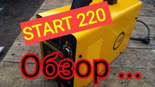 START 220 Обзор Отзывы  новинка от старта .посмотрим что это за сварочный аппарат старт 220 ....