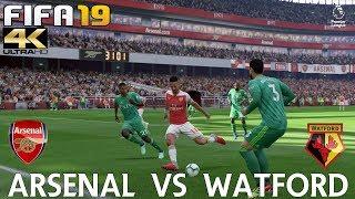 FIFA 19 (PC) Arsenal vs Watford | PREMIER LEAGUE PREDICTION | 29/9/2018 |4K 60FPS