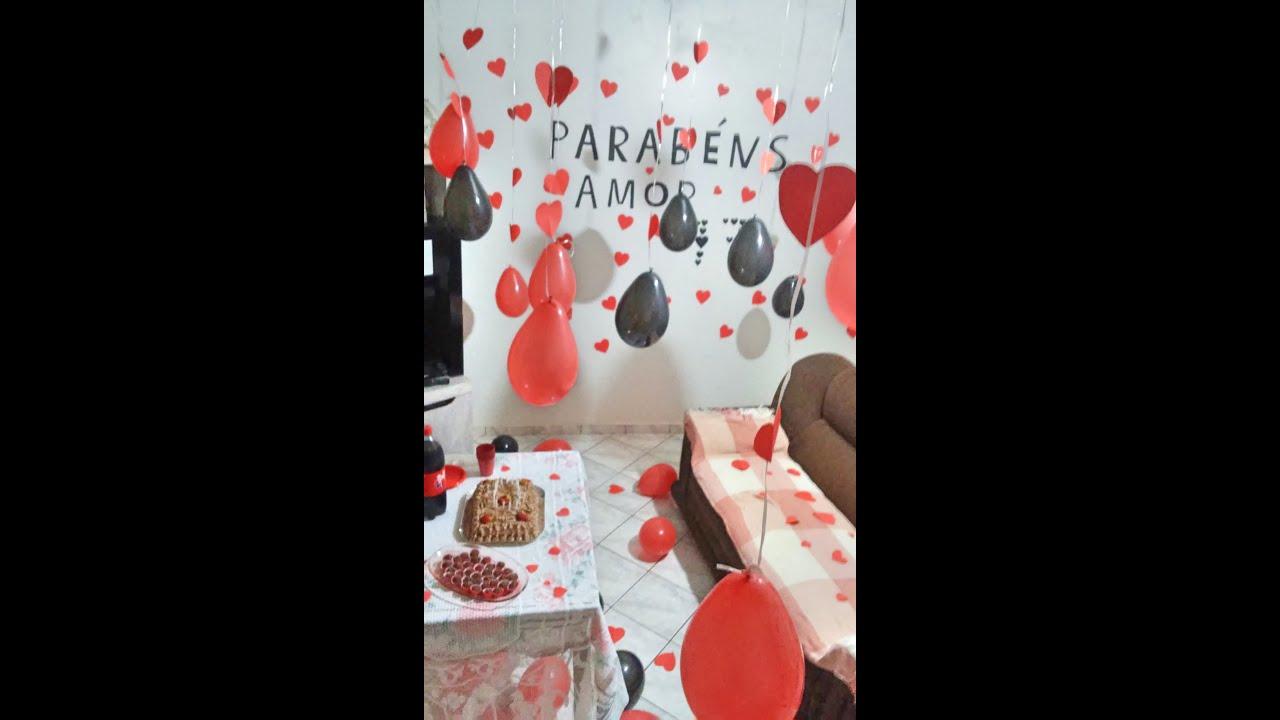 Surpresa de aniversário para o namorado ( Rafa & Grazi )  YouTube