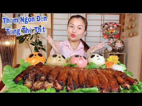Sườn Nướng Sốt Teriyaki Nguyên Tảng Siêu To Khổng Lồ&Bánh Bao Gấu Panda Siêu Cute Hột Me #566