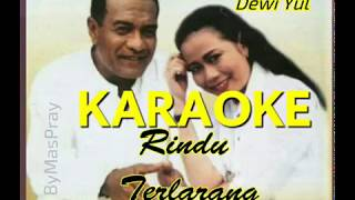 Rindu Terlarang , Broery Marantika & Dewi Yul ,Cover Karaoke Tanpa Vokal+ Lirik Smule