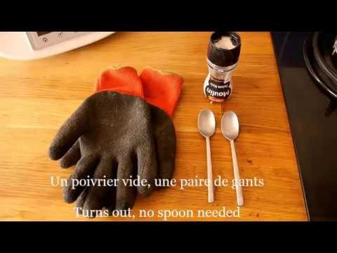 Ouvrir un poivrier Ducros jetable