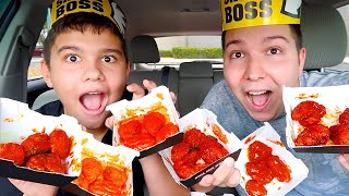 BUFFALO WILD WINGS CHALLENGE MUKBANG Video