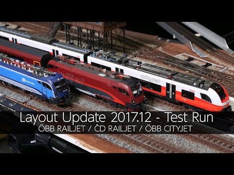 OBB RAILJET/CD RAILJET/OBB CITYJET Test Run - VLOG39