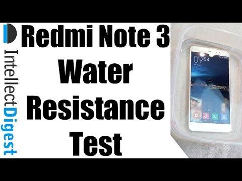 brand new 38054 9743f Is Xiaomi Redmi Note 3 Waterproof? Redmi Note 3 Water Resistance ...