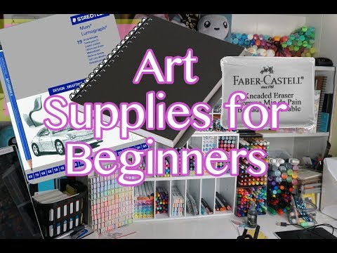 Great ART  Supplies For Beginners !!! (Must HAVE)