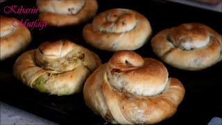 OKLAVA kullanmadan kolay EL AÇMASI BÖREK NASIL YAPILIR - Börek tarifleri | Kibarin mutfagi