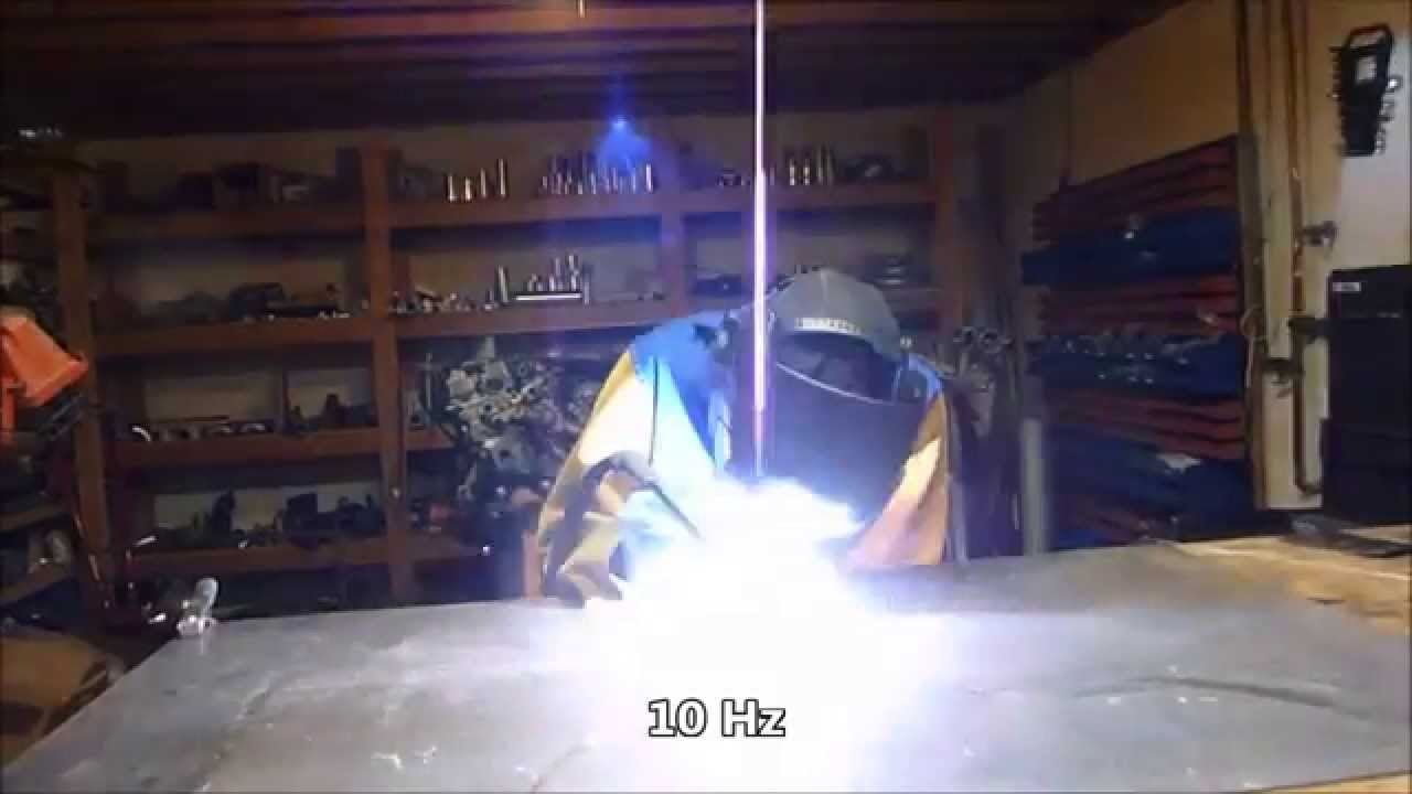 Tig Perfect High Speed Pulse Examples (10hz To 40hz) Youtube