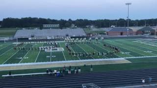 GlenOak Marching Band 2017-2018 Fight Song/On Eagles