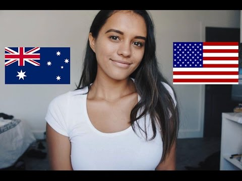 Differences between living in Australia and America
